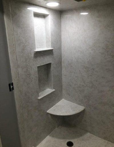 Web Vein - Cult. Marble - Recessed Shelf